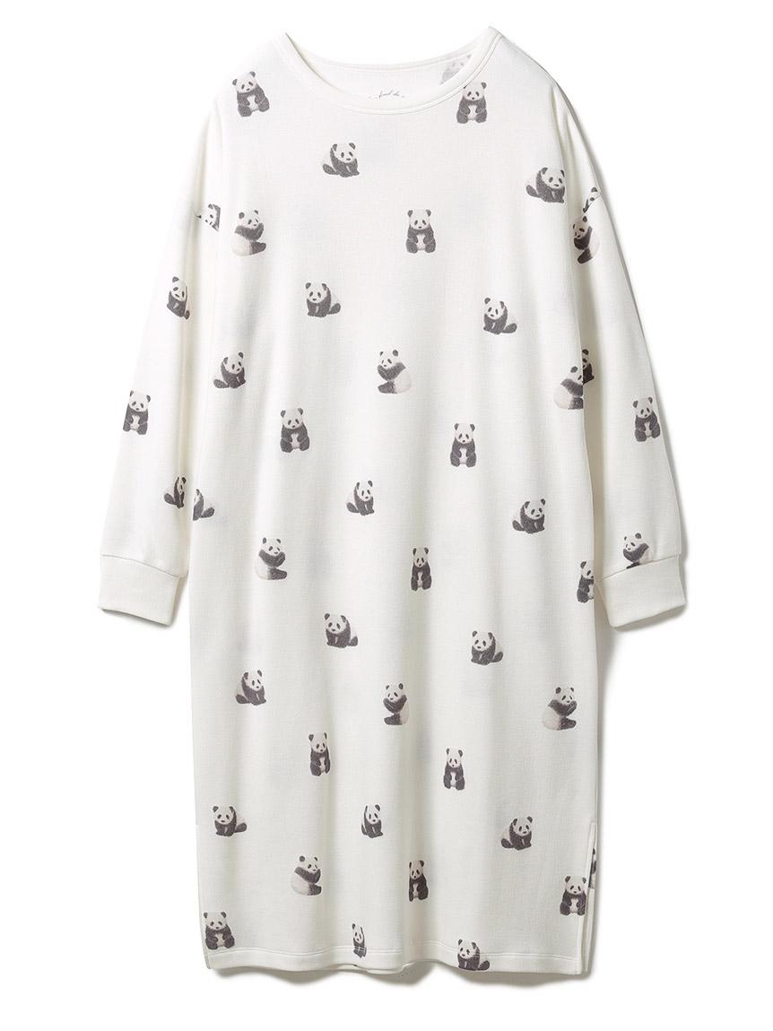 パンダモチーフドレス