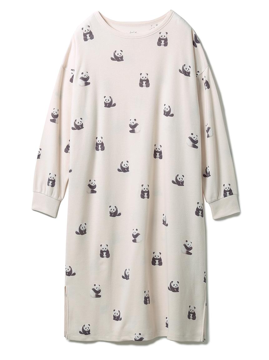 パンダモチーフドレス(BEG-F)
