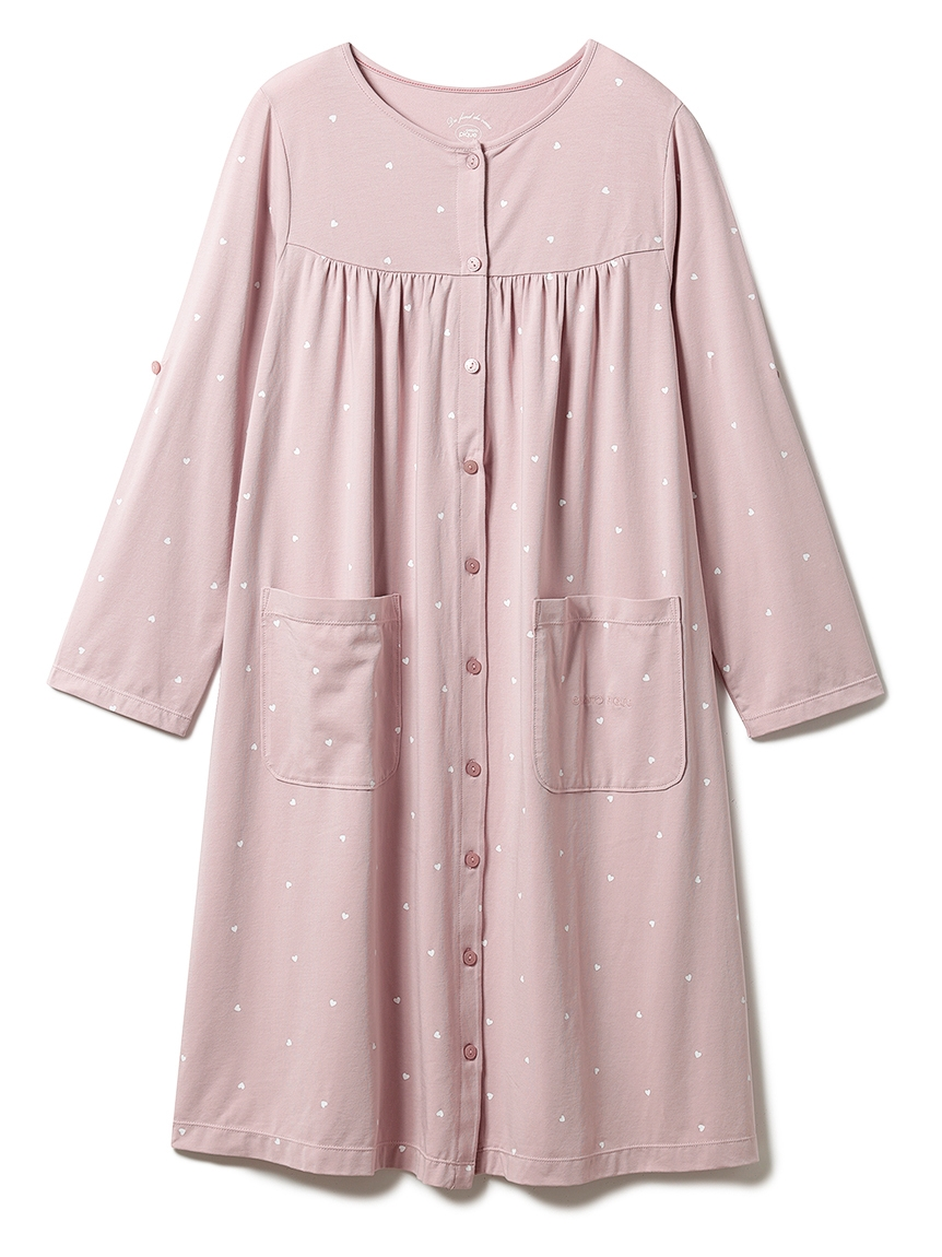 【ONLINE限定】マタニティハートモチーフドレス(PNK-F)