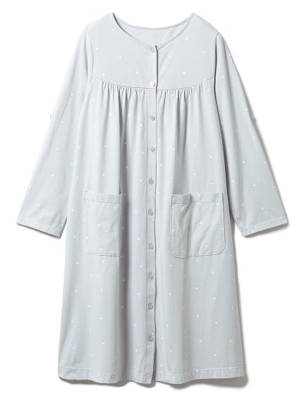【ONLINE限定】マタニティハートモチーフドレス(BLU-F)