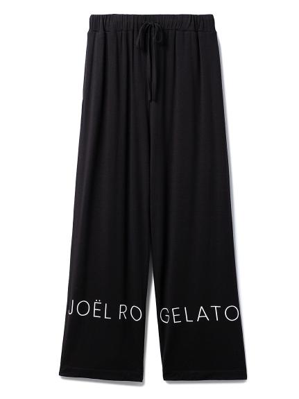 【Joel Robuchon & gelato pique】抗ウィルスロングパンツ(BLK-F)