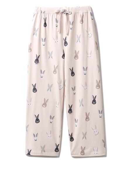 ウサギモチーフロングパンツ