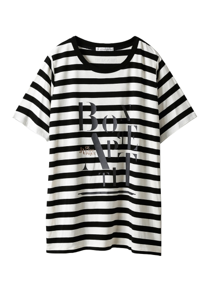 【JoelRobuchon&gelatopique】シルクロゴTシャツ