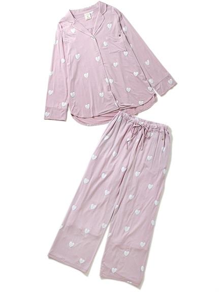 【ラッピング】ハートシャツ&ロングパンツSET
