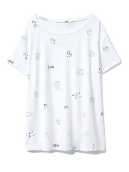 ピケモチーフTシャツ(OWHT-F)