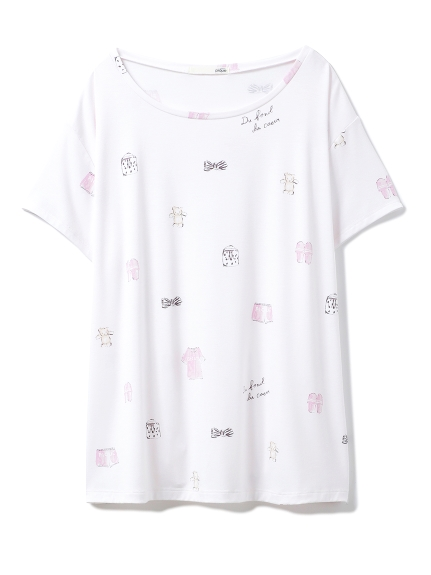 ピケモチーフTシャツ(PNK-F)