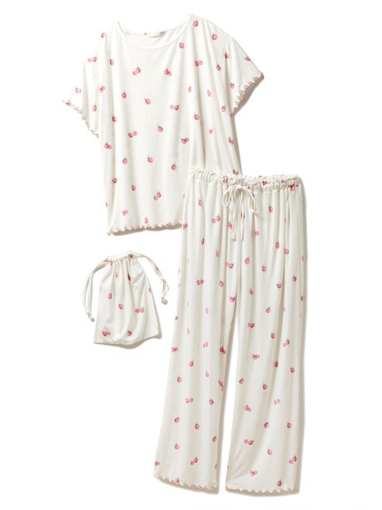 【ONLINE限定】ラズベリーTシャツ&ロングパンツ&巾着SET