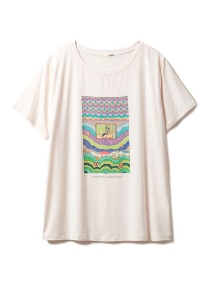 【さくらももこ】Tシャツ(PNK-F)