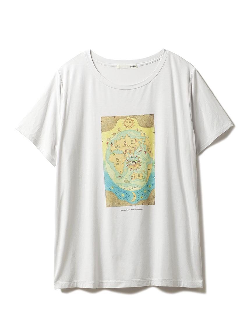 【さくらももこ】Tシャツ(BLU-F)