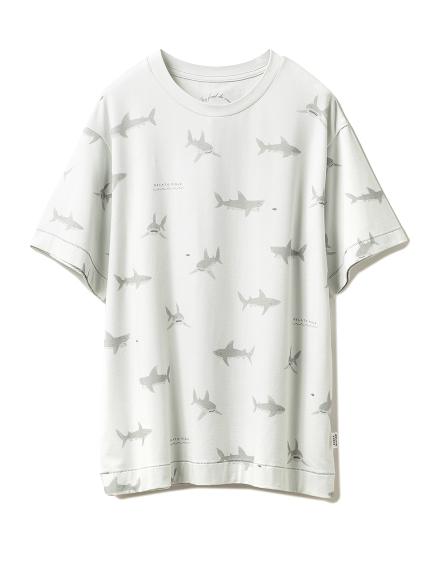 シャークモチーフTシャツ