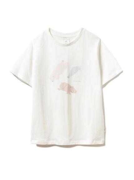 【旭山動物園】ペイントアニマルTシャツ(OWHT-F)