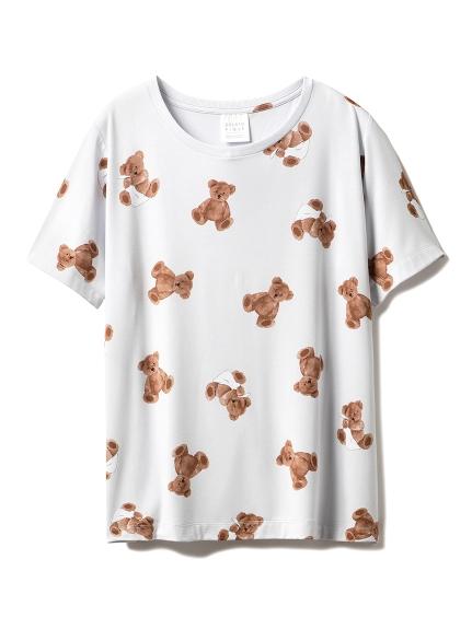 ベアモチーフ抗菌防臭Tシャツ