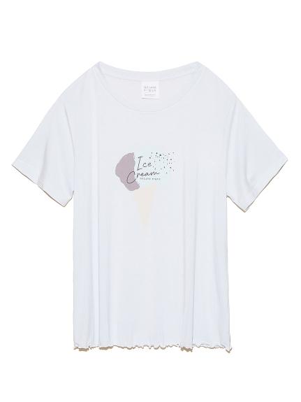 アイスワンポイントTシャツ