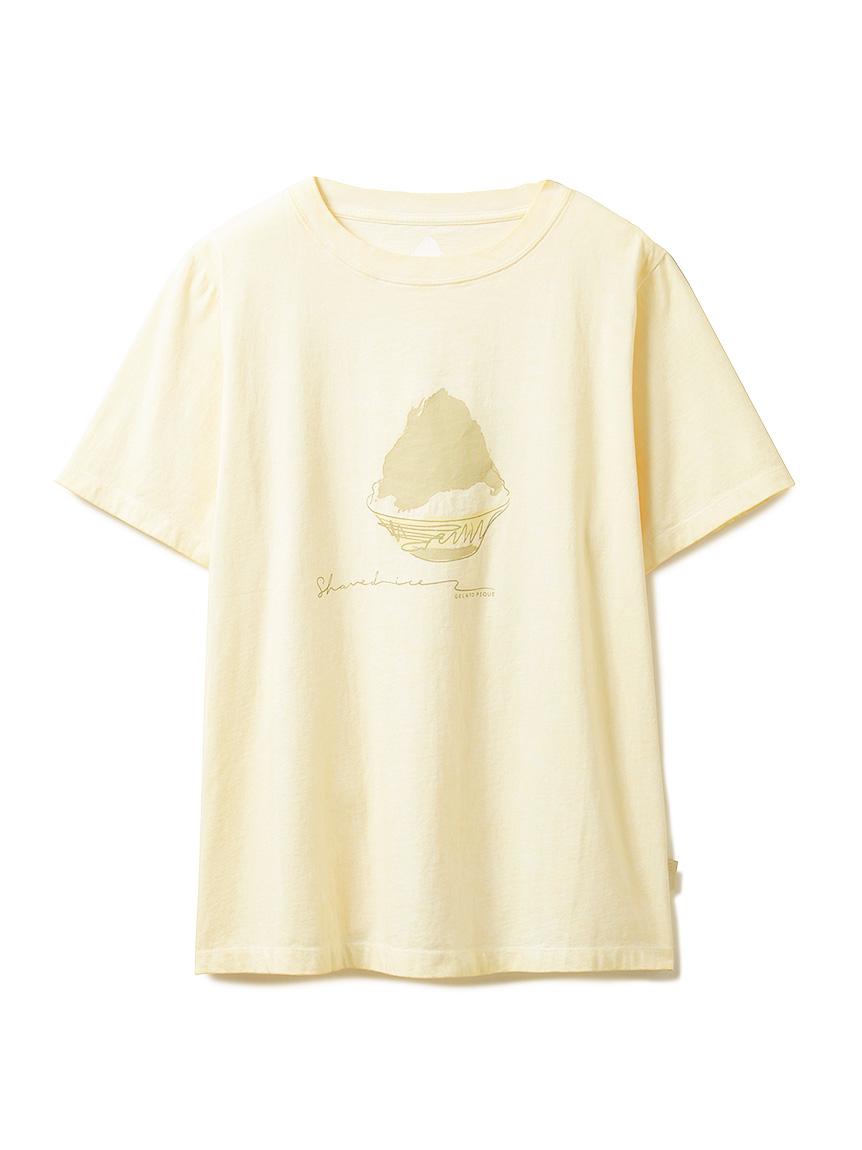 かき氷Tシャツ(YEL-F)