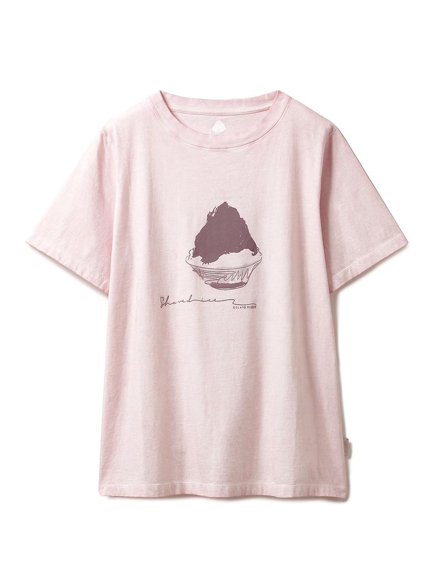 かき氷Tシャツ(PNK-F)