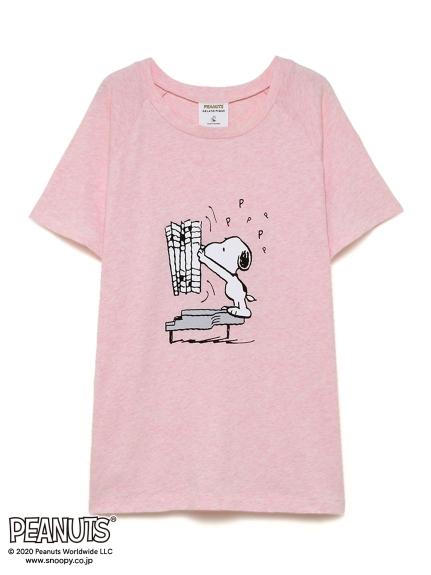 【PEANUTS】ワンポイントTシャツ