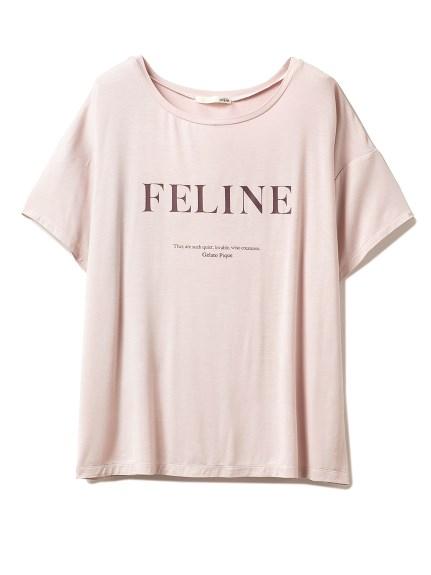 ワンポインロゴTシャツ(PNK-F)