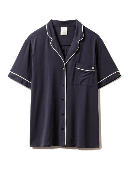 クールパイピングシャツ(NVY-F)