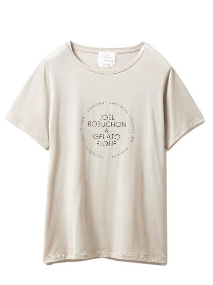 【Joel Robuchon & gelato pique】シルクMIX Tシャツ(GRY-F)