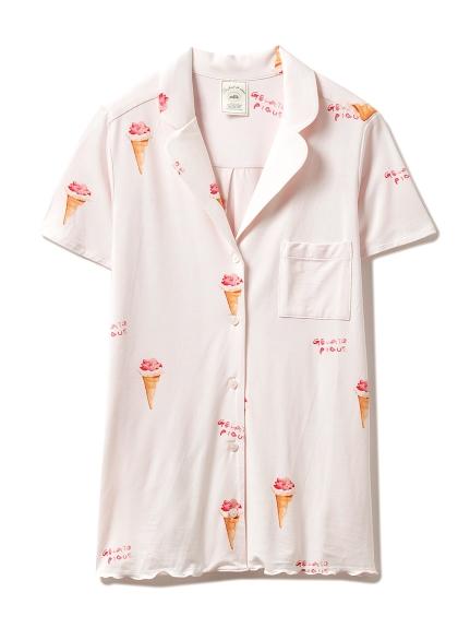 アイスクリームモチーフシャツ