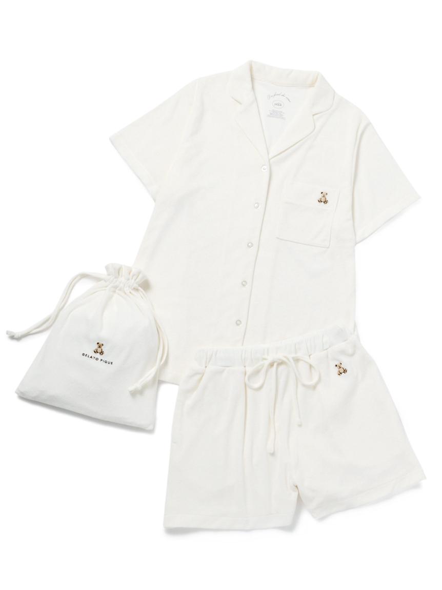 【ONLINE限定】抗菌防臭パイルベアシャツ&ショートパンツ&巾着SET