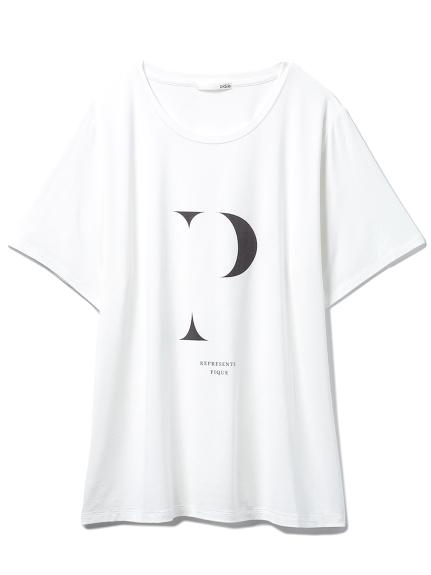 イニシャルロゴレーヨンTシャツ(OWHT-F)