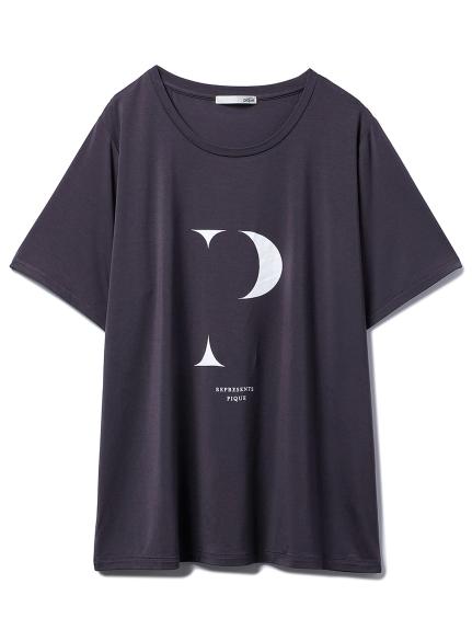 イニシャルロゴレーヨンTシャツ(DGRY-F)