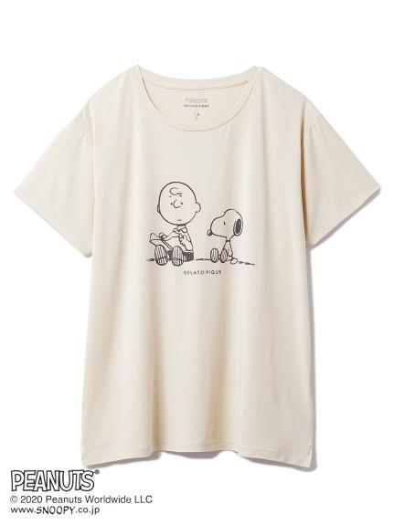 【LIMITED】PEANUTS ワンポイントTシャツ