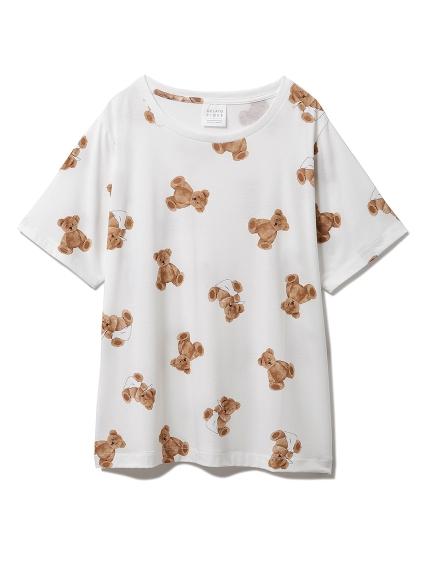 ベアモチーフ抗菌防臭Tシャツ(OWHT-F)