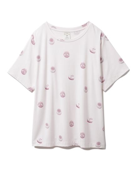 ホールケーキモチーフTシャツ(PNK-F)
