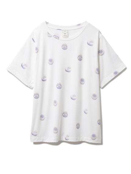 ホールケーキモチーフTシャツ(BLU-F)