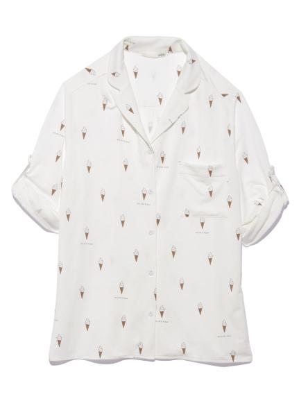 アイスモチーフシャツ(OWHT-F)