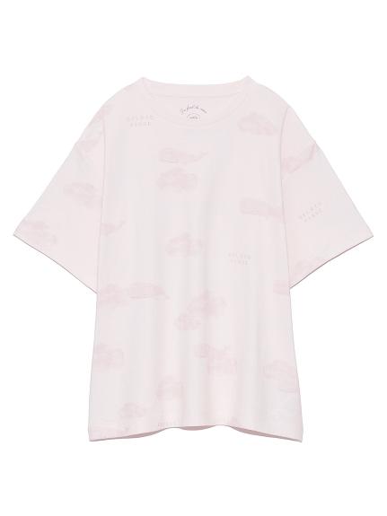 クジラモチーフTシャツ(PNK-F)