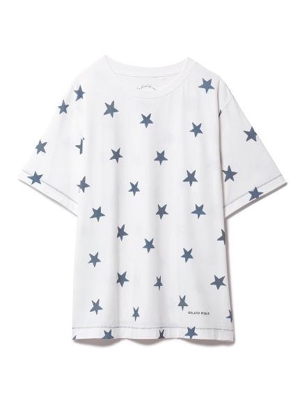 スターモチーフTシャツ(NVY-F)
