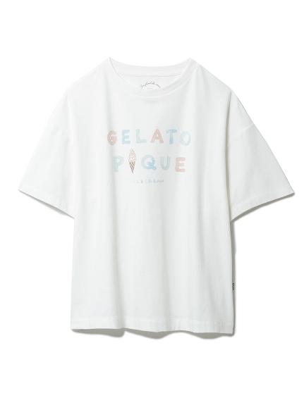 アイスクリームロゴワンポイントTシャツ