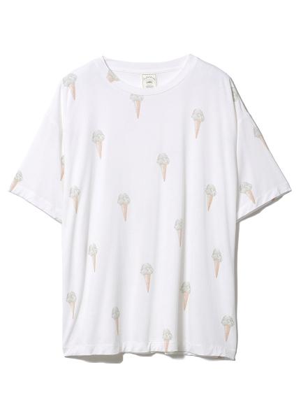 ジェラートモチーフTシャツ(MNT-F)