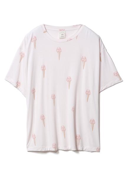 ジェラートモチーフTシャツ(PNK-F)