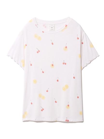 フルーツモチーフTシャツ(PNK-F)
