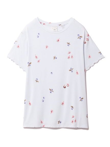 フルーツモチーフTシャツ(BLU-F)