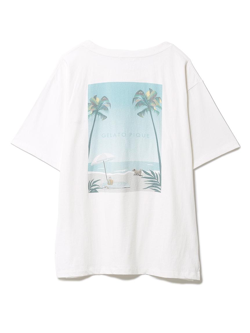 リゾートワンポイントTシャツ