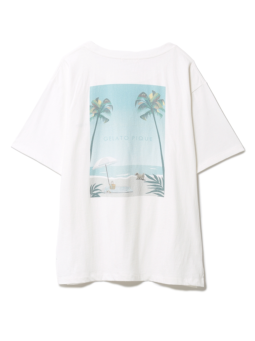リゾートワンポイントTシャツ(OWHT-F)