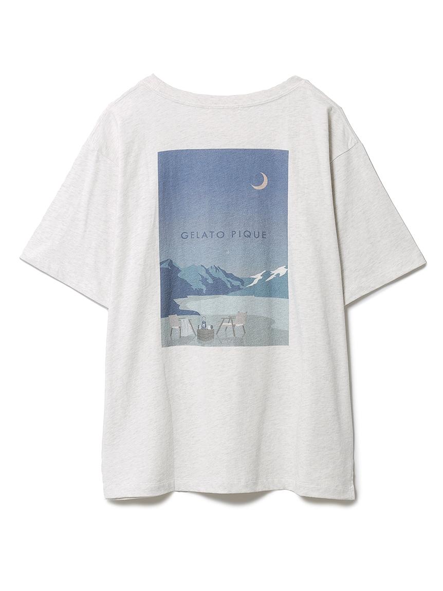 リゾートワンポイントTシャツ(GRY-F)
