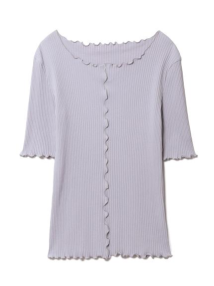 リブTシャツ(BLU-F)