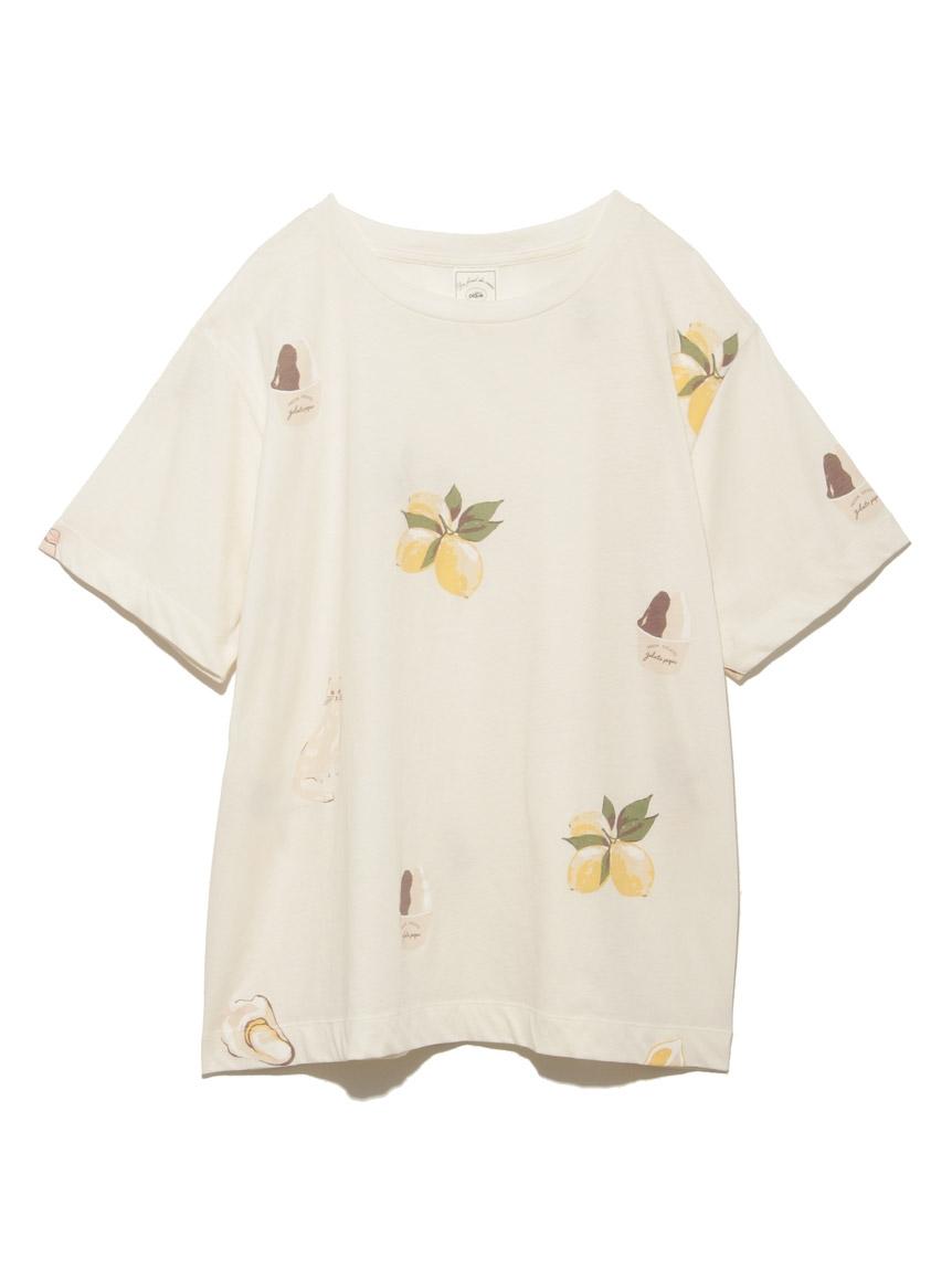 シチリアモチーフTシャツ(BEG-F)