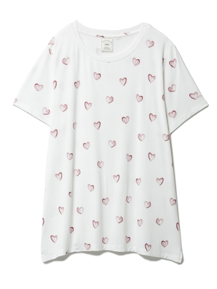 ハートモチーフTシャツ(OWHT-F)
