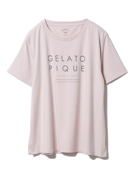 マタニティロゴTシャツ(PNK-F)