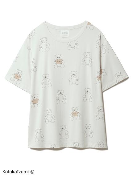 【kotoka izumi】ベアモチーフTシャツ