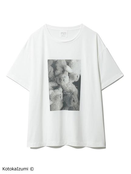 【kotoka izumi】ベアワンポイントTシャツ(OWHT-F)