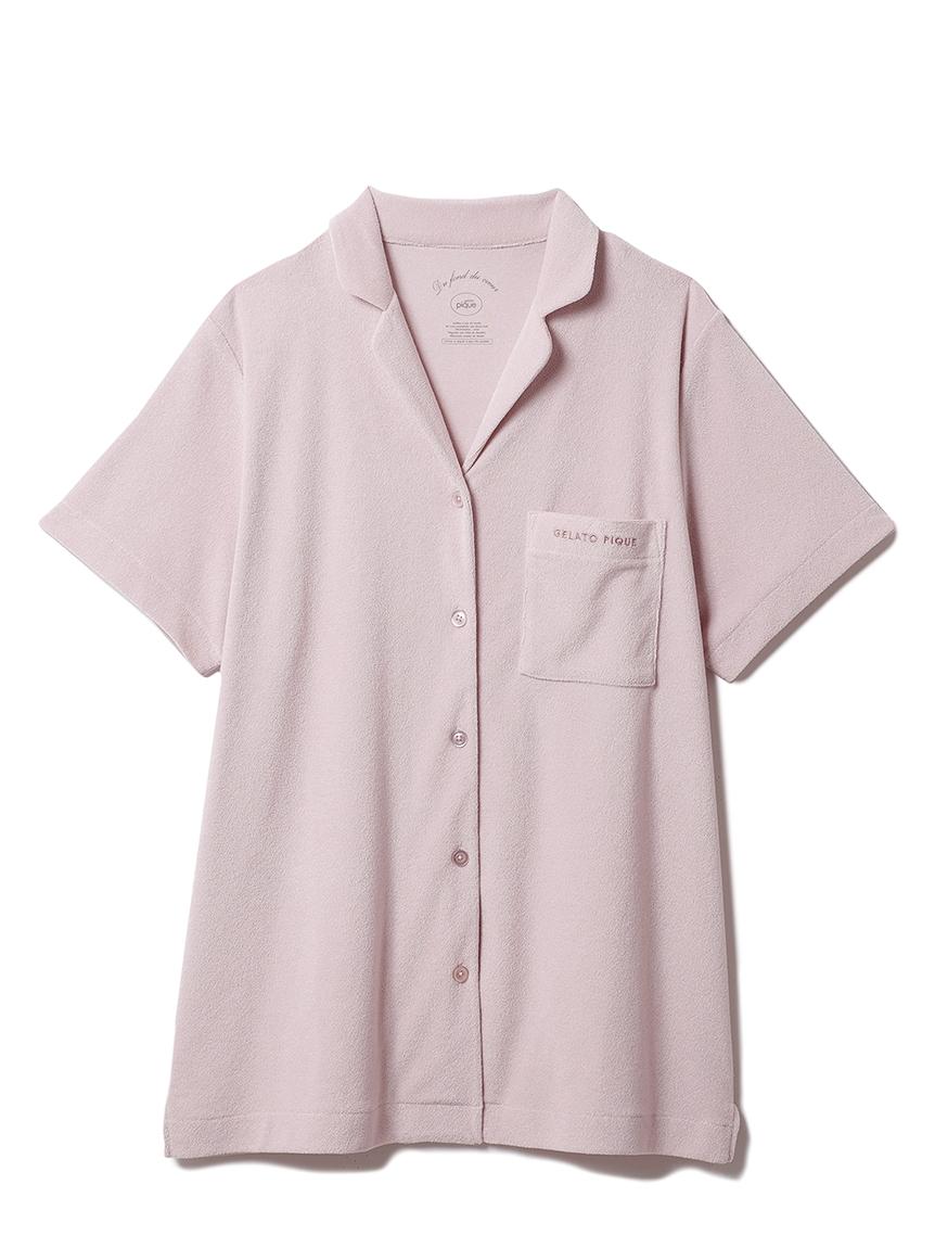 パイル半袖シャツ