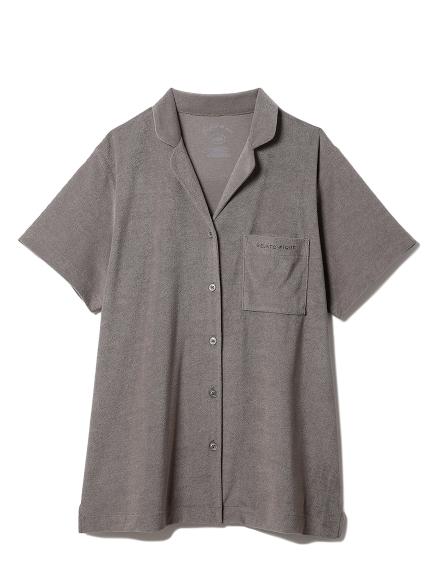 パイル半袖シャツ(GRY-F)